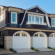 Traditional Exterior by Mark Reuter
