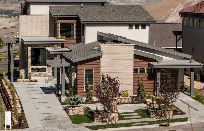 Contemporary Exterior by Ezra Lee Design+Build