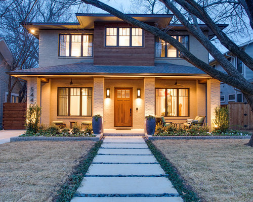 Prairie style home design ideas pictures remodel and decor for Modern home builders dallas
