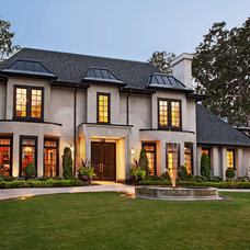 Traditional Exterior by Horizon Contracting