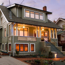 Traditional Exterior by David Coulson Design Ltd.