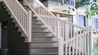 Victorian entry stair rebuild