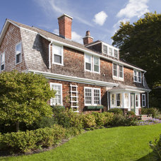 Traditional Exterior by Andrew Suvalsky Designs