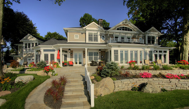 Traditional Exterior by Martin Bros. Contracting, Inc.