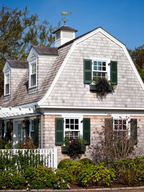 Shingles With Shutters Home Design Ideas Pictures