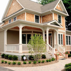Traditional Exterior by Stroble Building Company