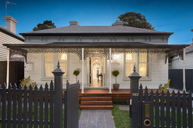 Victorian Exterior by Janelle Hearn Design