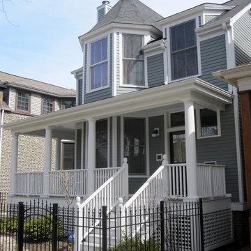 Victorian Historic Renovation, Chicago, IL