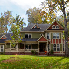 Traditional Exterior by Kustom Home Design