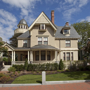 Curved Porch Roof Houzz