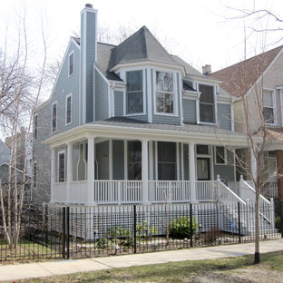 Victorian Style Home - Chicago, IL in Marvin Windows & Hardie Siding & Trim