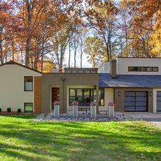 Contemporary Exterior by Gmanu & Associates