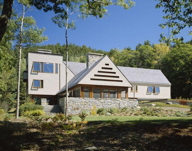 Modern gable style homes