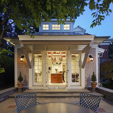 traditional exterior by Krieger + Associates Architects Inc