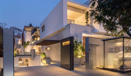 Hyderabad Houzz: Lighting Takes Centre Stage in This Home's Design