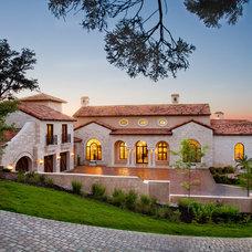 Mediterranean Exterior by My Villa Austin