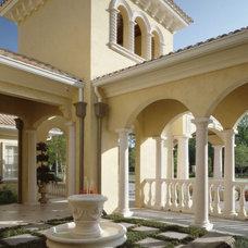 Mediterranean Exterior by The Fechtel Company