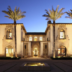 mediterranean exterior by Richard Manion Architecture Inc.