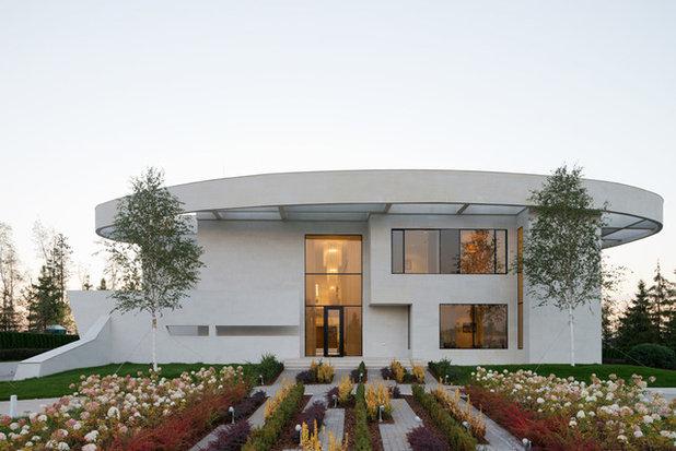 Contemporáneo Fachada by Архитектурное бюро SL*project