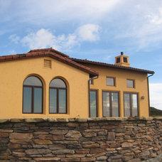 Mediterranean Exterior by Studio 2G Architects