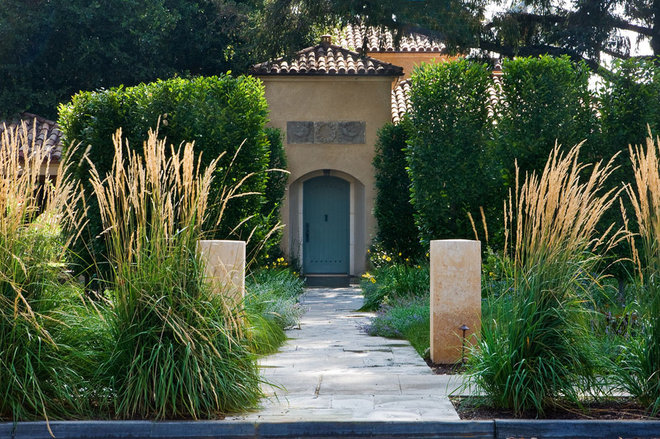 mediterranean exterior by Noel Cross+Architects