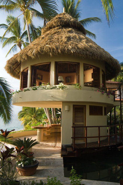 Tropical Exterior by Roe Anne White Photography