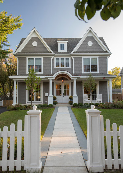 Traditional Exterior by Homes by Pinnacle, Inc.