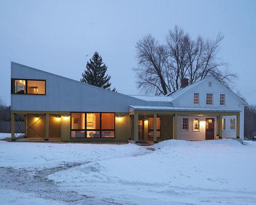 Farmhouse Architecture Houzz