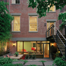 Transitional Exterior by Andrew Franz Architect PLLC