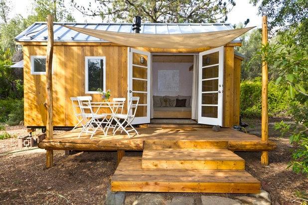 Contemporary Exterior by Sol Haus Design