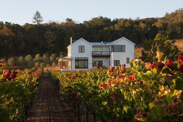 Farmhouse Exterior by Amy A. Alper, Architect