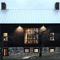 Farmhouse Exterior by KATE JOHNS AIA
