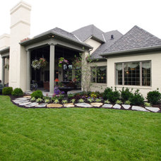 Traditional Exterior by Studer Residential Designs
