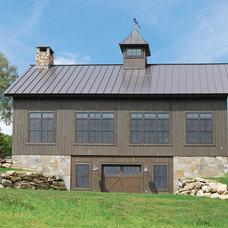 Farmhouse Exterior by The McKernon Group