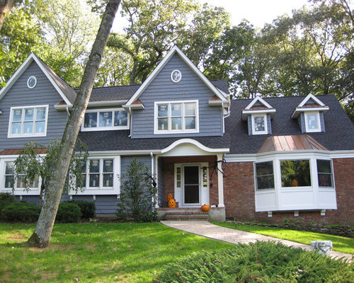 Blue Vinyl Siding Home Design Ideas Pictures Remodel And