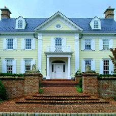 Traditional Exterior by Boris Baranovich Architects, P.C.