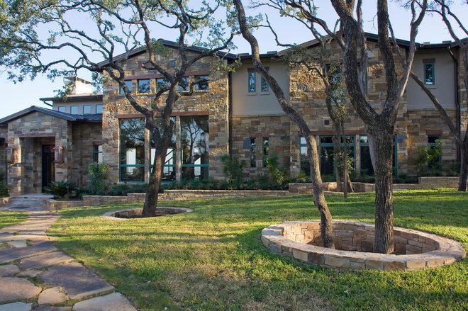 Модернизм Фасад дома by Austin Design Group