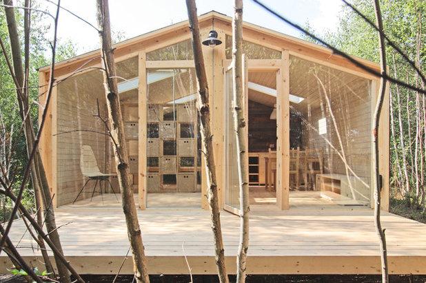 Кантри Фасад дома by BIO architects