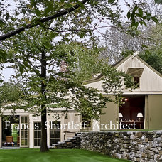Rustic Exterior by Paul Francis Shurtleff   Architect