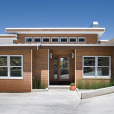 Contemporary Exterior by Gina Roberts-Wagner