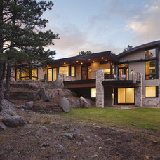Modern Exterior by Mosaic Architects Boulder
