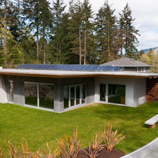 Contemporary Exterior by NZ Builders ltd