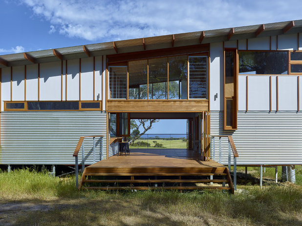 Industrial Exterior by Mountford Williamson Architecture