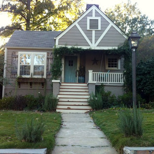 Inspiration for a rustic exterior home remodel in Birmingham