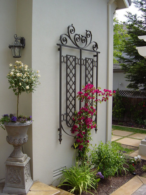 Ornamental Iron Trellis Home Design Ideas Pictures
