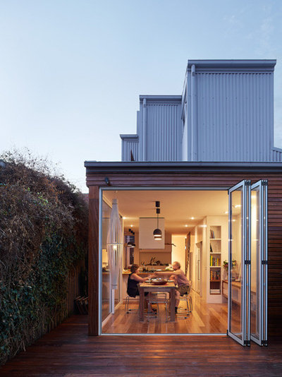 Contemporary Exterior by Gardiner Architects