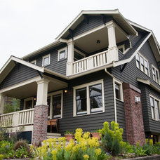 Craftsman Exterior by Schulte Construction