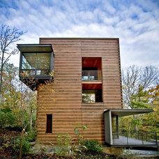 Contemporary Exterior by John Senhauser Architects
