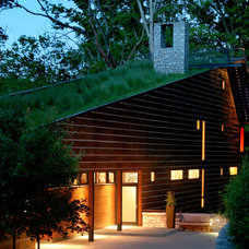 Contemporary Exterior by John Senhauser Architects