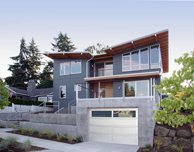 Contemporary Exterior by Neiman Taber Architects